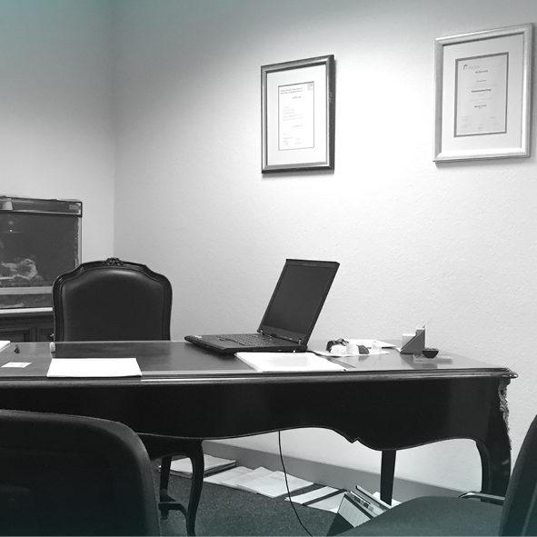 Jochen Webers Büro