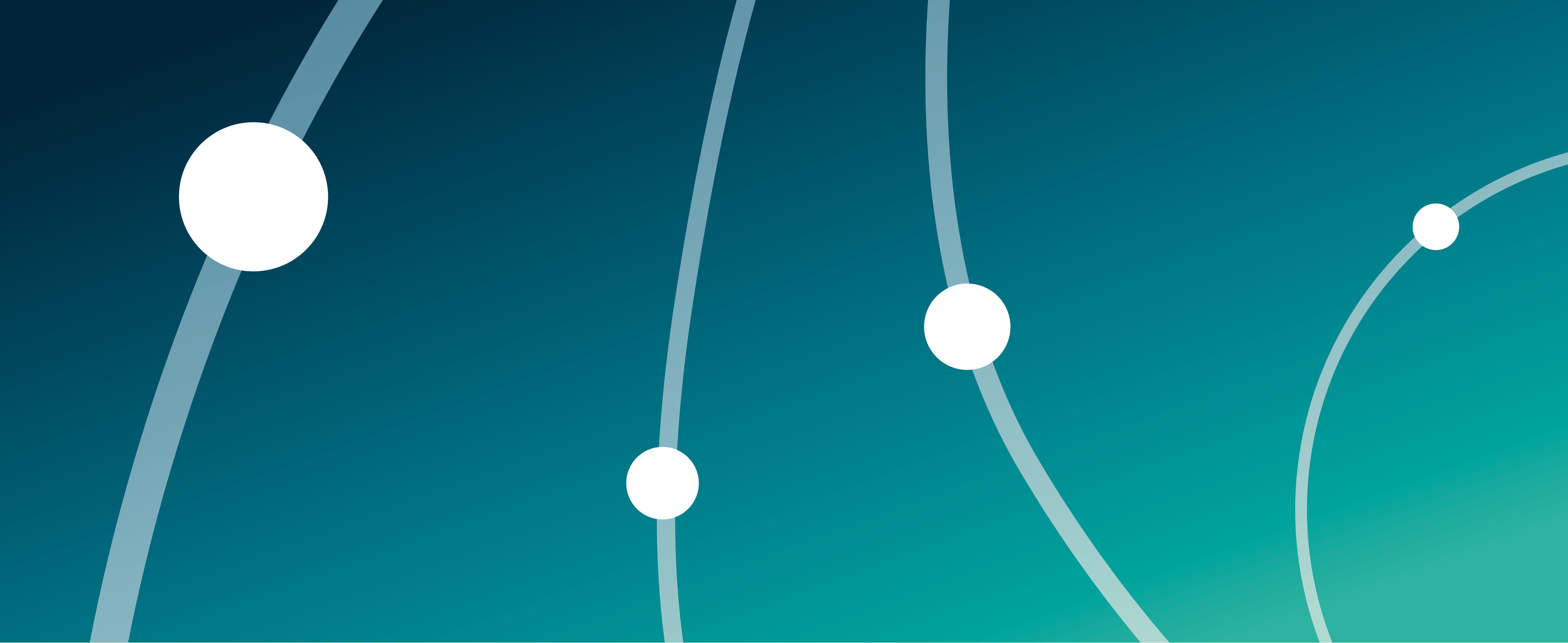 Visual Projekte mit Linien und Punkten